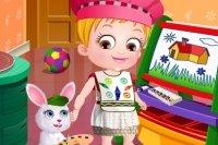 Baby Hazel : Apprendre à Colorier