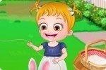 Bébé Hazel cerf-volant
