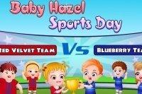 Bébé Hazel et sa journée de sport