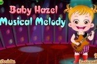 Bébé Hazel fait de la musique