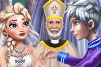 Cérémonie de mariage d'Elsa