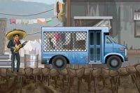 Chauffeur de fourgon cellulaire