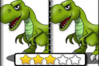 Cherche les Différences Dinosaure