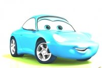 Coloriage Sally Cars 2