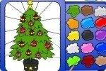 Coloriage Arbre de Noël 2