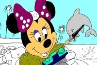Coloriage Minnie 4