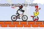 Course de ninja en BMX