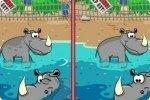 Différences du zoo