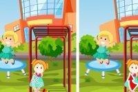 Différences jouer dehors