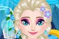 Elsa aux cils resplendissants