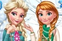 Elsa et Anna Tendances d'hiver