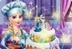 Elsa et sa pièce montée