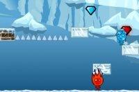 Garçon de feu et fille d'eau et l'aventure de glace