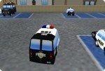 Garer les voitures de police