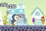 Glaces de pingouin