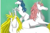 Image de Licorne à colorier 2
