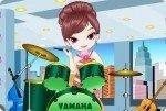 Jeune-fille à la batterie