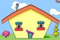Katrina construit des maisons
