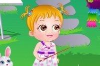 La fête au jardin de bébé Hazel
