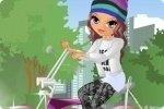 Layla en vélo