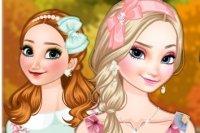 Les Sœurs Frozen Mode d'Automne