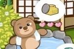 Les ours à la station thermale
