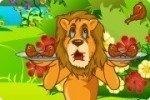 Lion affamé