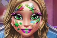 Maquillage d'Hiver La Reine des Neiges