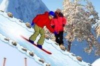 Parcours Snowboard