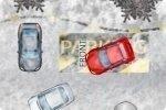 Parking glissant