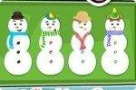 Petits gâteaux bonhommes de neige