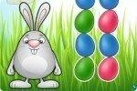 Relier les œufs de Pâques