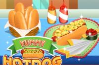 Des Hotdogs Délicieux