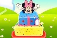 Gâteau d'anniversaire Minnie Mouse