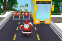 Le sprint du Père Noël