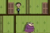 Mr Bean et le poisson rouge
