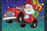 Puzzles Camions Noël