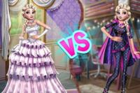 Superhéro contre princesse