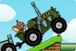 Tom et Jerry en tracteur